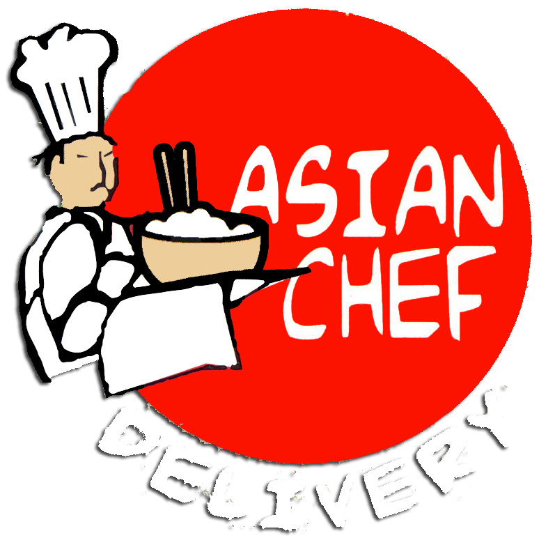 Menu for Asian cuisine delivery